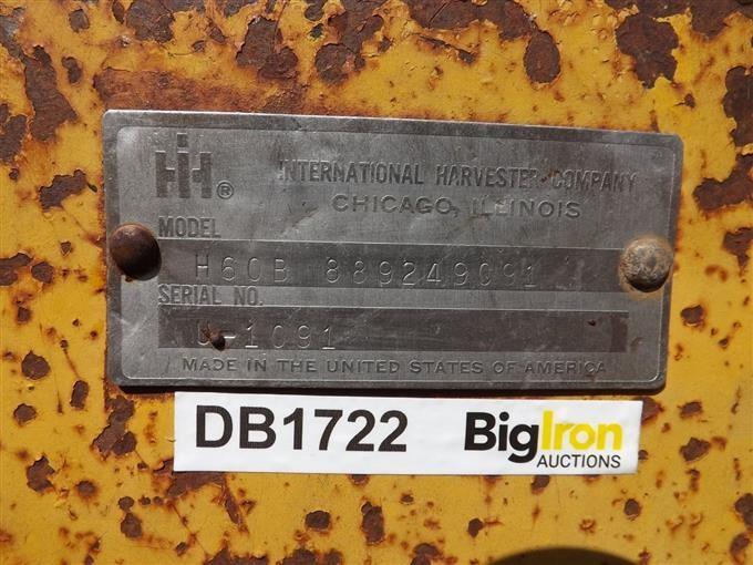 1972 International Hough H60B Wheel Loader BigIron Auctions