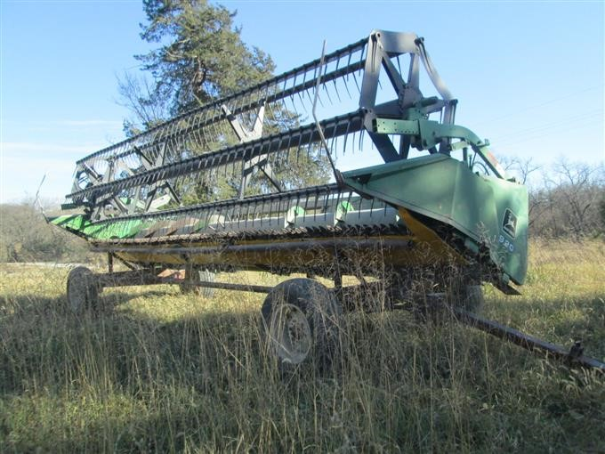 John Deere 920 20' Flex-Header BigIron Auctions