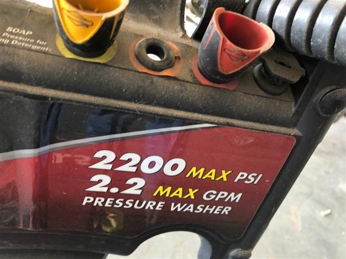 Briggs & Stratton Gas Powered Pressure Washer BigIron Auctions