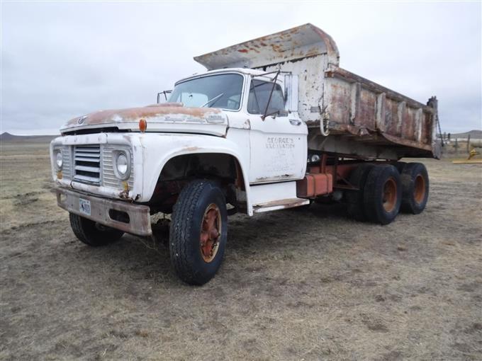 1964 Ford F850 Super Duty T A Dump Truck Bigiron Auctions