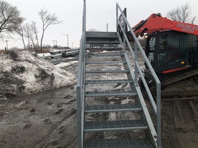 Galvanized Steel Stairs BigIron Auctions