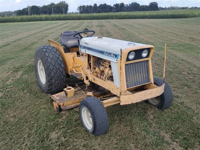 international cub lo boy 154 tractor