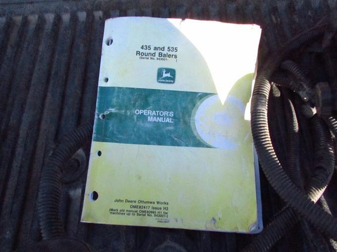 John Deere 535 Baler Monitor Wiring Diagram Free Download • Oasis-dl.co