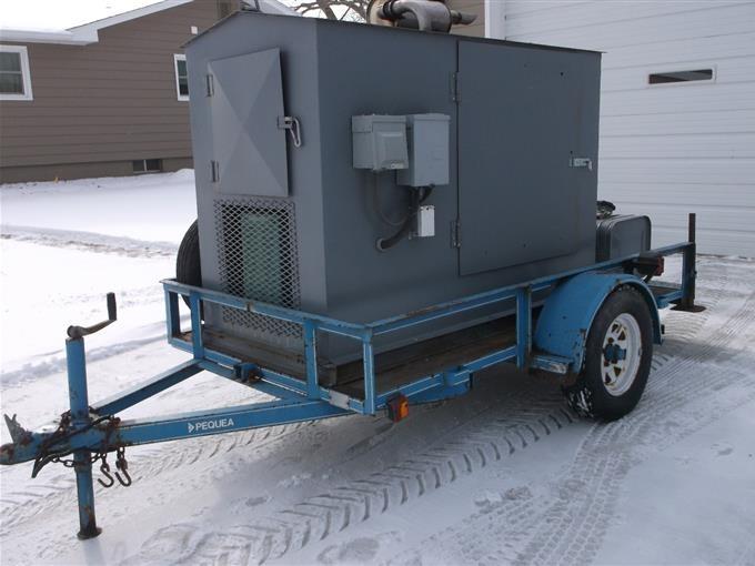 Onan portable kw 30 electric plant / generator model 30 ek 3ur8.