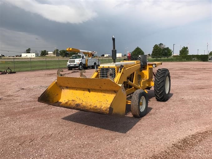 1970 International 3616 Tractor With Loader BigIron Auctions