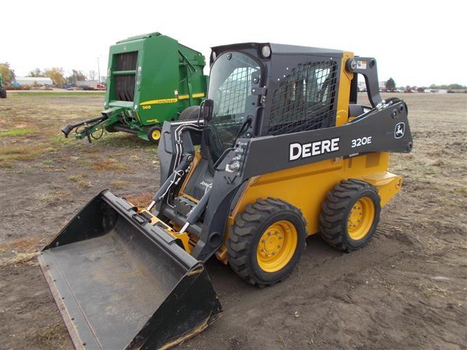 2014 John Deere 320E Skid Steer BigIron Auctions