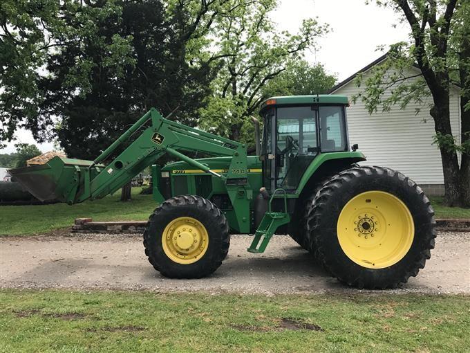 John Deere 740 Tractor : Bigiron