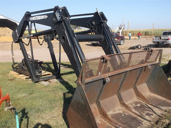 Westendorf WL-44 Quick Attach Loader BigIron Auctions
