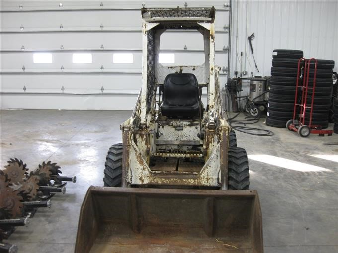 Melroe/Bobcat M610 Skid Steer BigIron Auctions