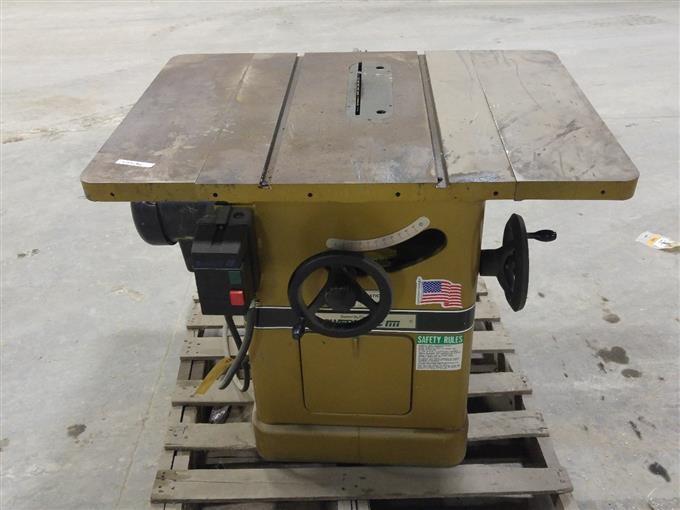 Bigiron for Powermatic 66 table saw motor