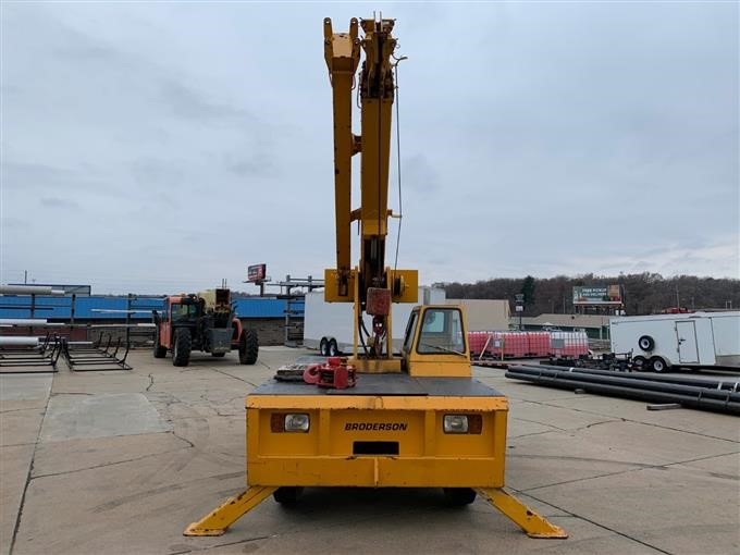 1995 Broderson IC-80 1D Carry Deck Crane BigIron Auctions