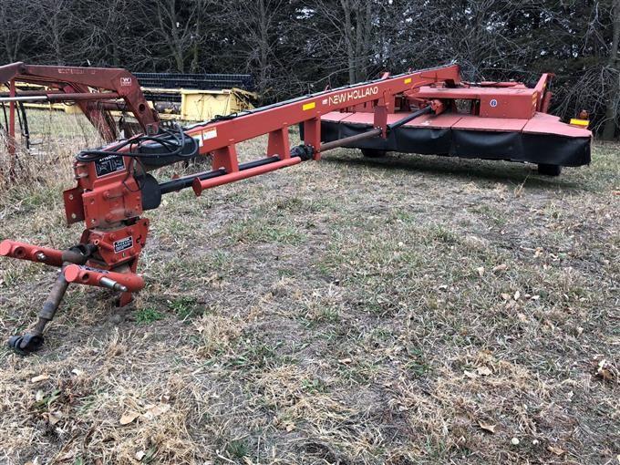 New Holland 1441 Discbine Windrower BigIron Auctions
