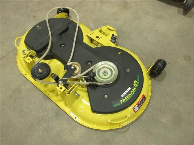 John Deere 42 Freedom Mulching Mower Deck Iron Auctions