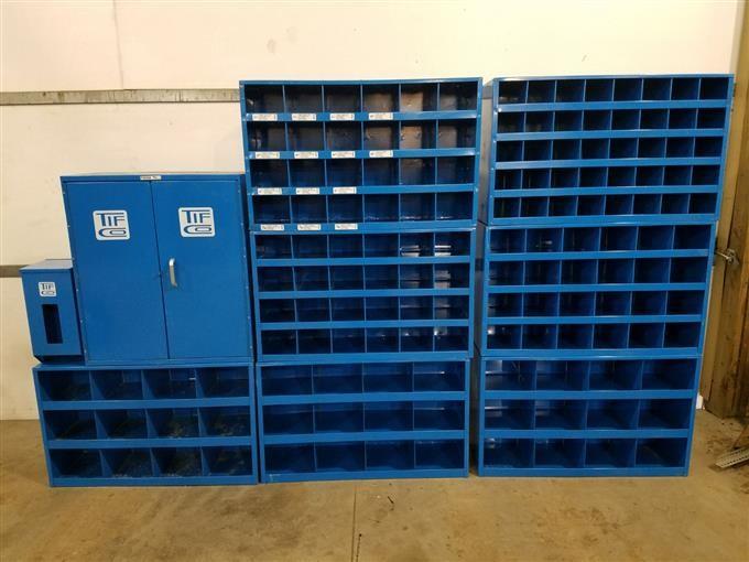Bolt Storage Bins Cabinet Bigiron Auctions
