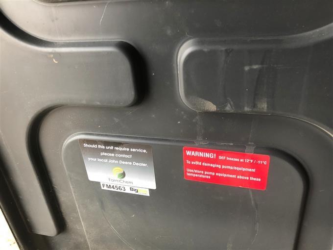 FarmChem 70 Gallon DEF Tank Fueling Unit BigIron Auctions