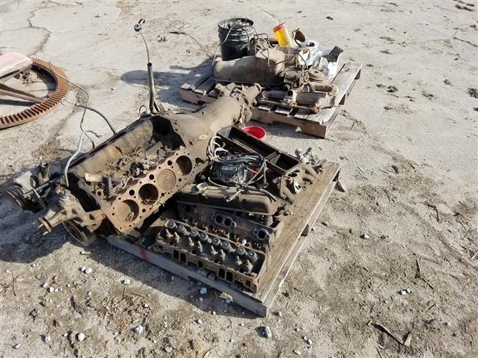 Chevrolet 305 Engine Automatic Transmission Bigiron Auctions