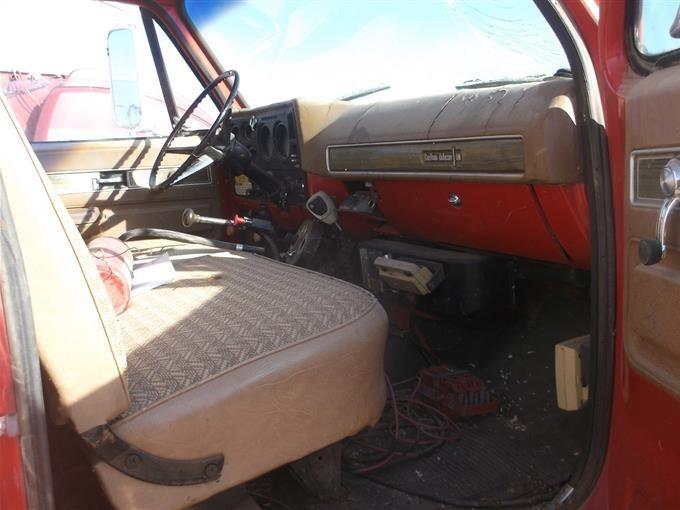1974 Chevrolet C65 T  A Grain Truck Bigiron Auctions
