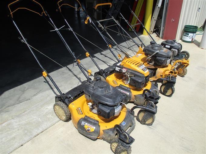 3) Cub Cadet & (1) Bolens Lawn Mowers BigIron Auctions