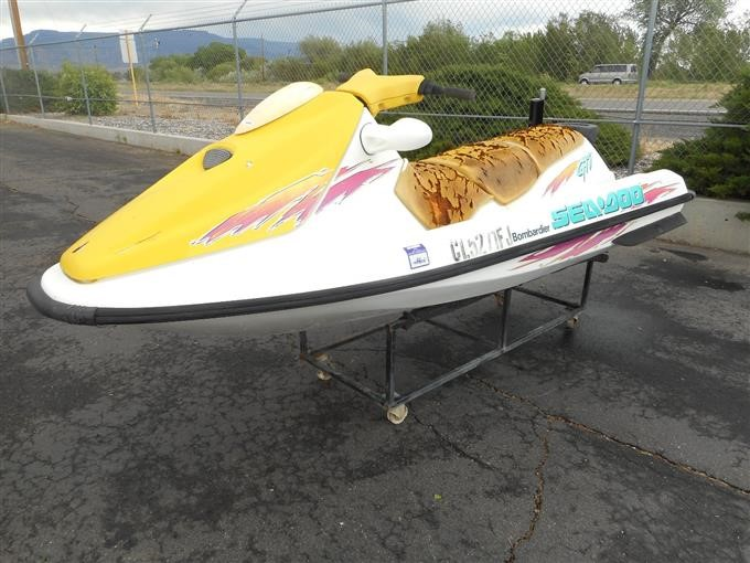 1996 Sea Doo GTI Personal Watercraft For Parts BigIron Auctions