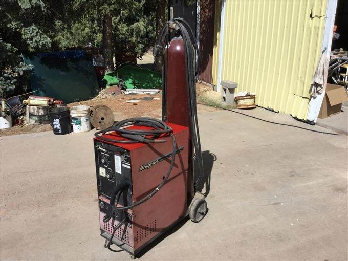 Snap On Ya 212a Wire Feed Welder Bigiron Auctions