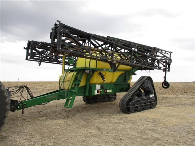 Top Air Ta 1600 Pull Type Tracked Sprayer Bigiron Auctions
