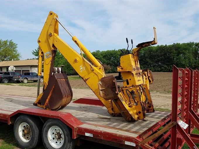 John Deere Backhoe Attachment >> John Deere 9300 Backhoe Attachment Bigiron Auctions