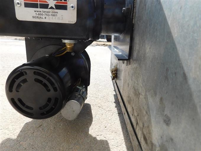 Lanair Hi 260 Waste Oil Fueled Furnace Bigiron Auctions