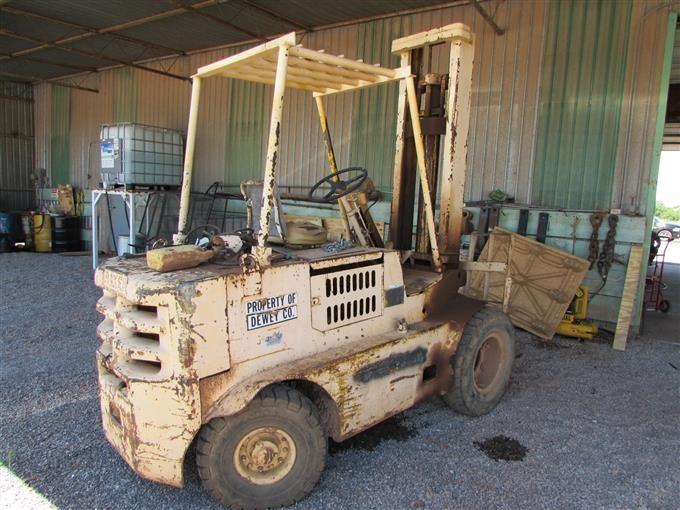 1964 Baker Fjf 060 M04 Forklift Bigiron Auctions