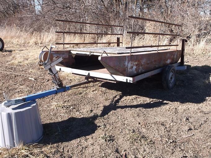 Homemade Pontoon Boat BigIron Auctions
