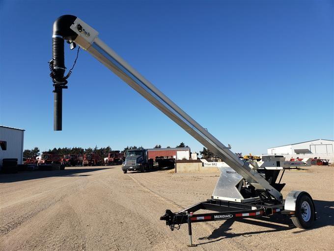 2012 Meridian Titan SR2 2 Box Seed Tender W/Belt Conveyor BigIron