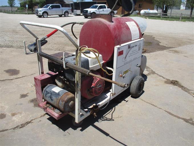 1999 whitco inc hornet ii steam cleaner bigiron auctions on