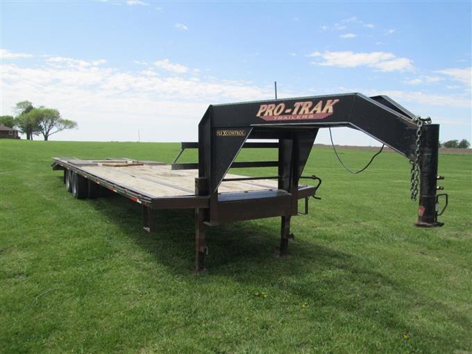 2005 Pro-Trak Flatbed Trailer BigIron Auctions