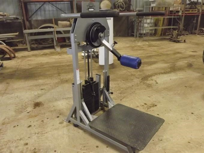 Body Masters Hip Rotator Weight Machine BigIron Auctions