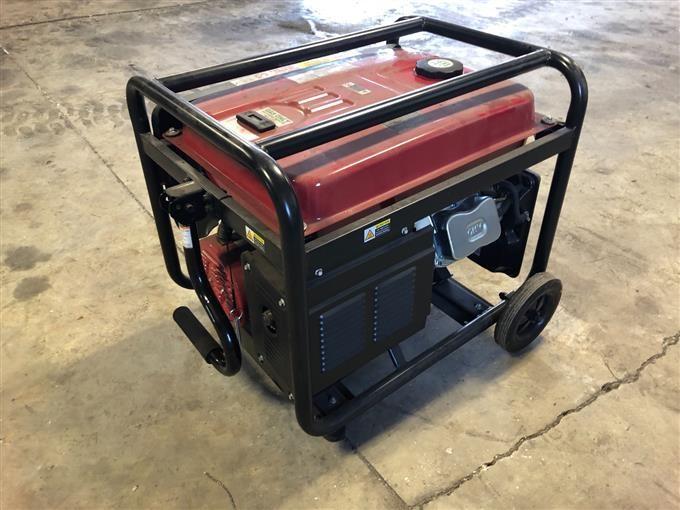 Predator 8750 Portable Generator BigIron Auctions