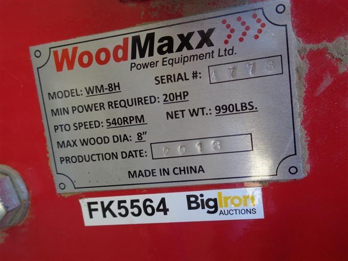 2013 WoodMaxx 3 Pt Portable Wood Chipper BigIron Auctions