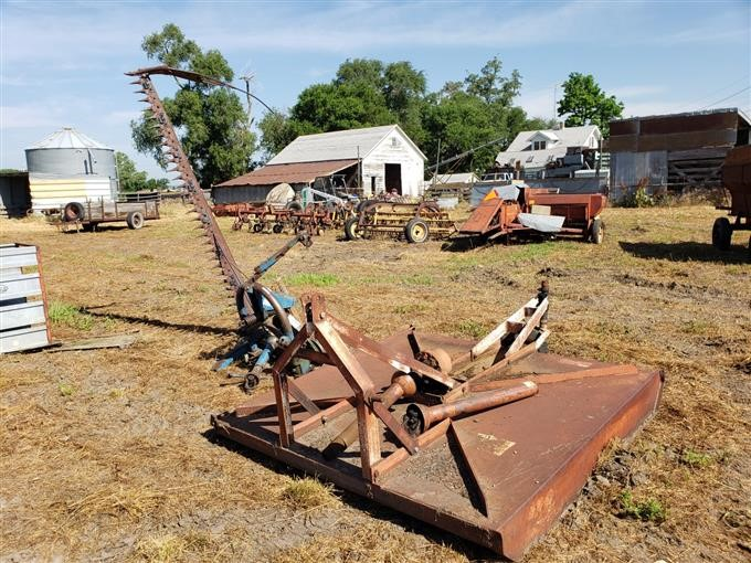 Ford Sickle Mower & BMB Rotary Cutter BigIron Auctions