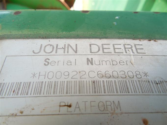 John Deere 922 Rice Rigid Header BigIron Auctions