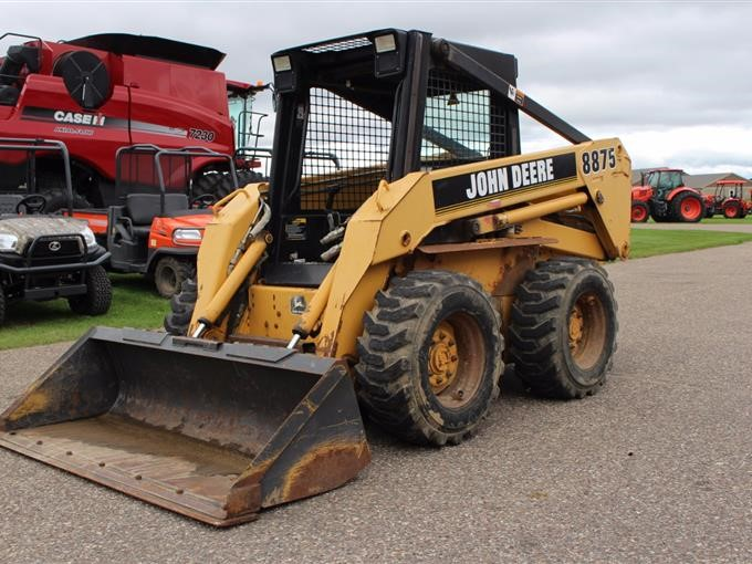 1998 John Deere 8875 Skid Steer Bigiron Auctions. John Deere. Quick Attach John Deere 8875 Schematic At Scoala.co