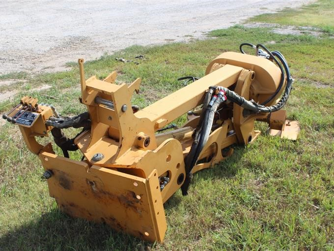 Case 860 Vibratory Plow Trencher Attachment BigIron Auctions