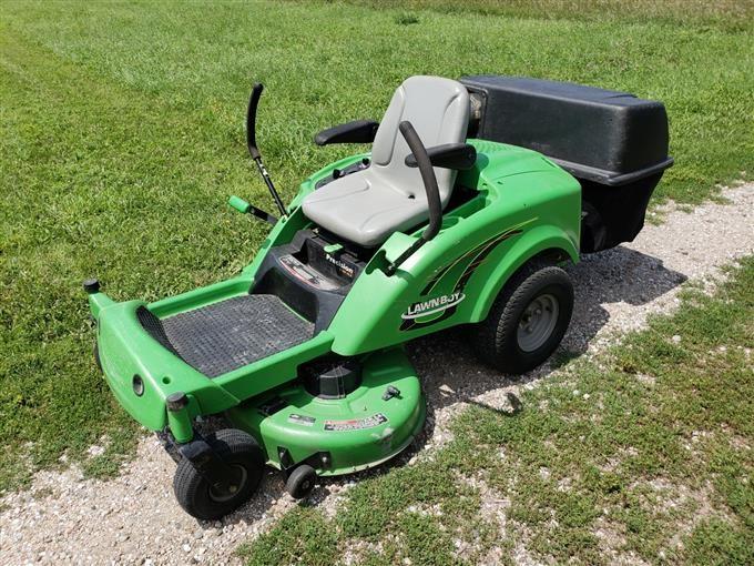 Lawnboy Z340 Hlx 42 Zero Turn Riding Lawn Mower Iron