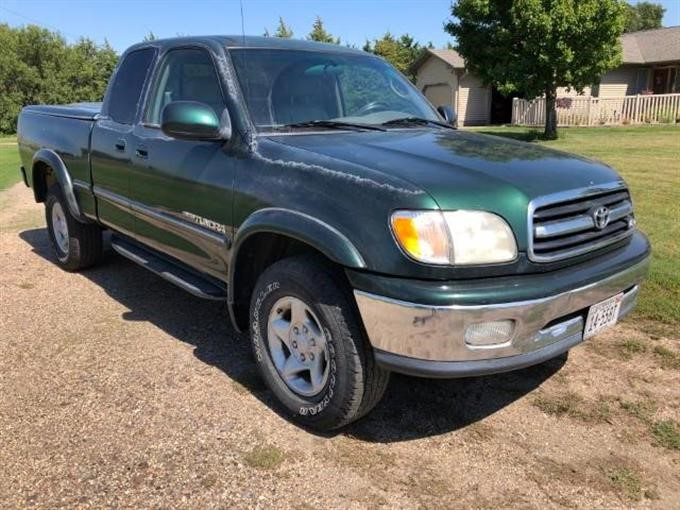 2000 Toyota Tundra Limited 4x4 Extended Cab Pickup Bigiron Auctions