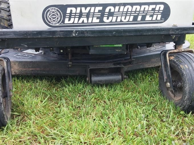 2001 Dixie Chopper XW2400 Quad Loop Lawn Mower BigIron Auctions