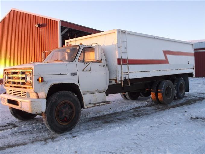 1975 gmc c6500 t a grain truck bigiron auctions. Black Bedroom Furniture Sets. Home Design Ideas