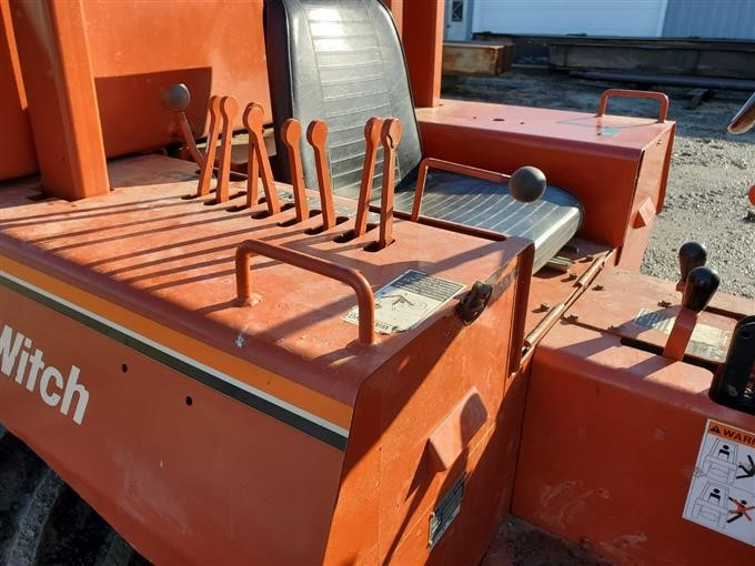 Ditchwitch 6510dd Trencher  Backhoe  Vibratory Plow Bigiron