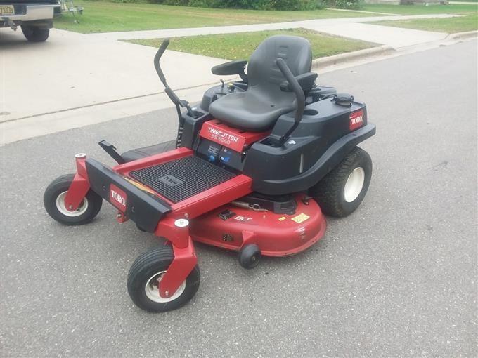 Toro Ss 5060 Zero Turn Lawn Mower And John Deere Snow Blower