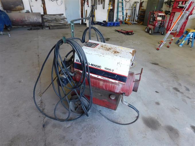 Electro Magic 1000 2 Hot Water Pressure Washer Bigiron