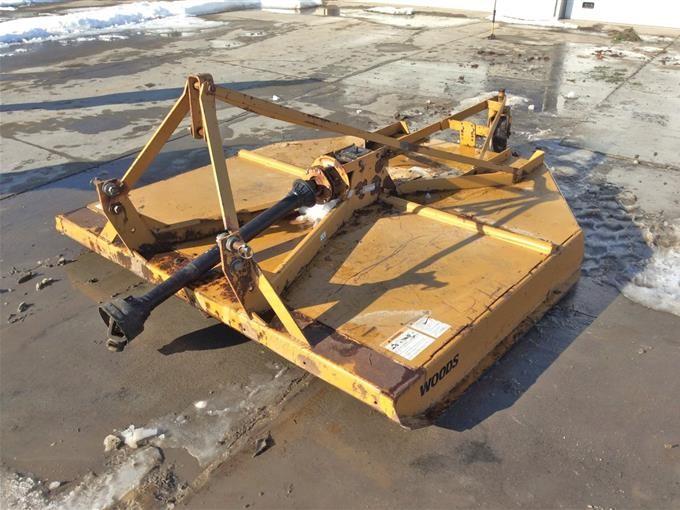 Woods XT184 Rotary Mower BigIron Auctions