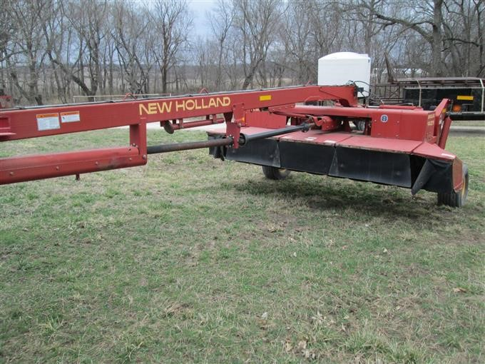 New Holland 1431 Discbine Hydro Swing Swather BigIron Auctions
