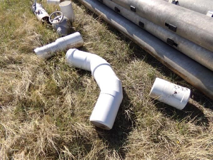 8 Quot X30 Quot Gated Irrigation Pipe W Fittings Bigiron Auctions