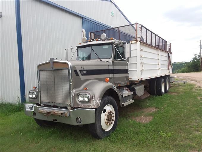1978 Kenworth W900 T/A Silage Truck BigIron Auctions